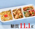 麻婆豆腐とチンジャオロースランチ [大豆米]