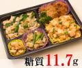 麻婆麺と鶏唐揚げ弁当
