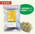 小川生薬の生姜緑茶 6個+1個無料サービス 送料無料 【当日発送可】※11時以降のご注文は翌日になります。