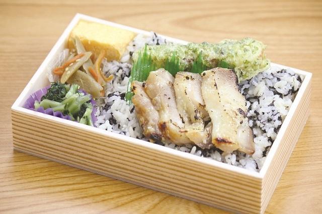 磯のり弁当(鶏塩麹漬)