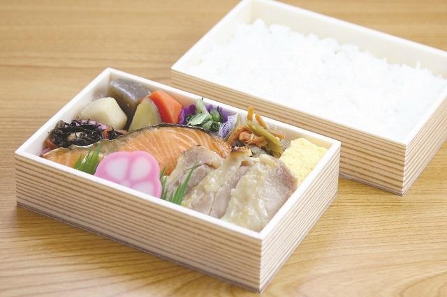 【古町小包】にぎわい膳(甘塩銀鮭・鶏塩麹漬)