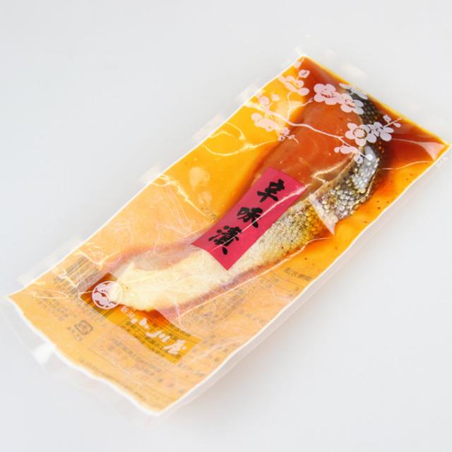 トラウトサーモン辛味漬