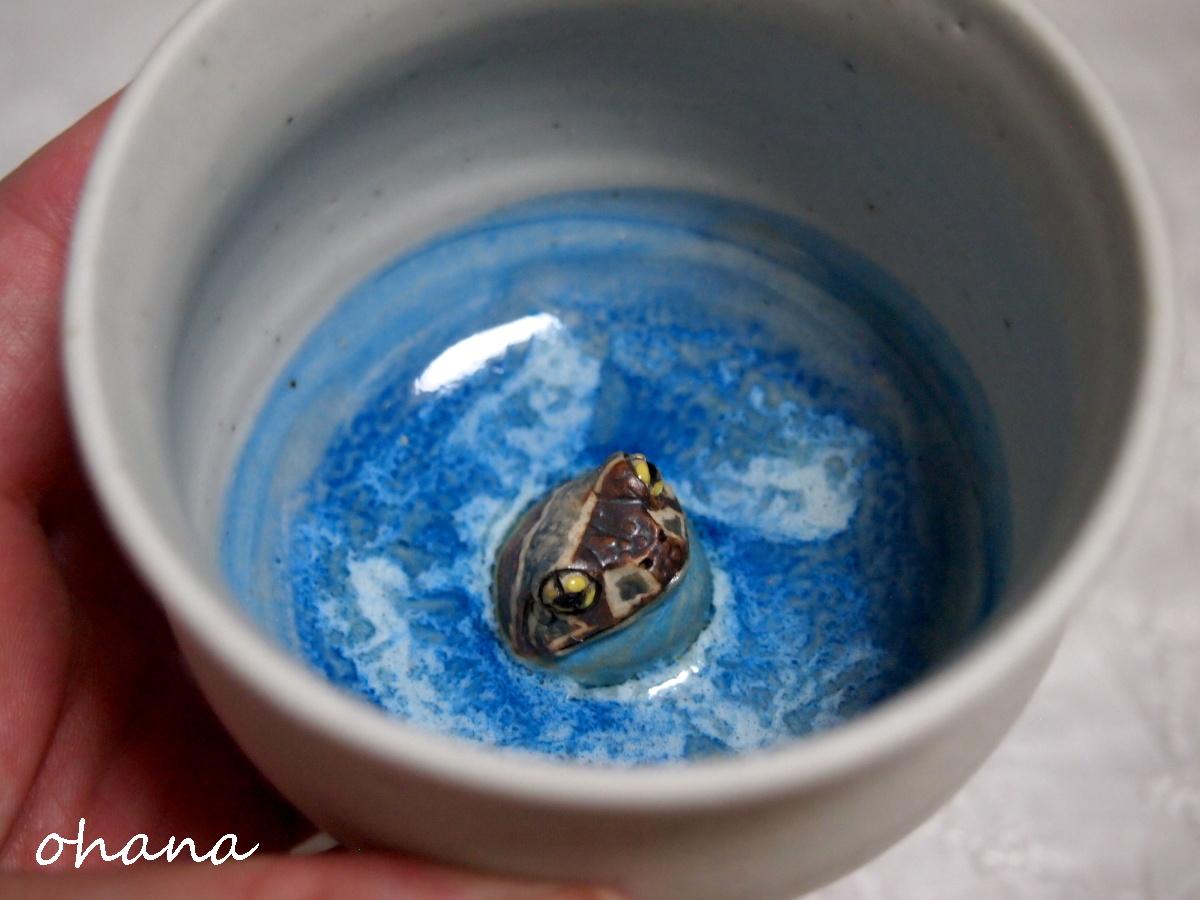 ミルキーフロッグ湯呑み