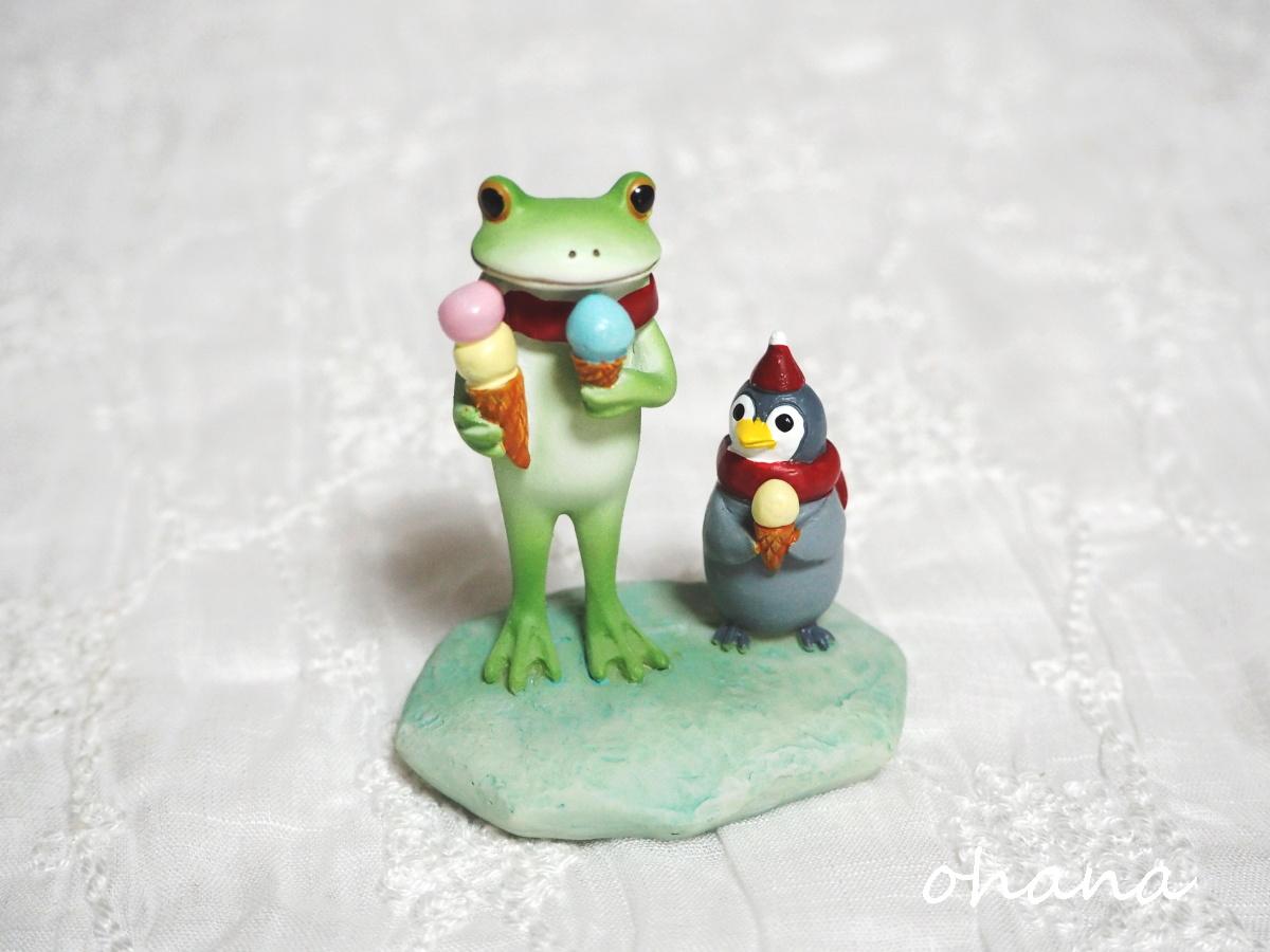子ペンギンとアイス