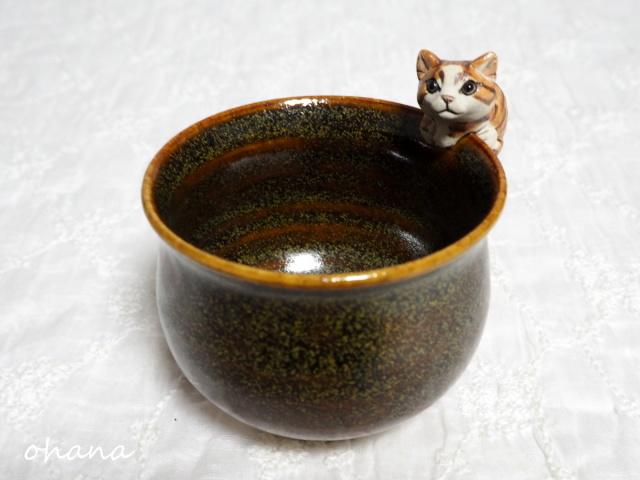 猫カップ・茶トラ