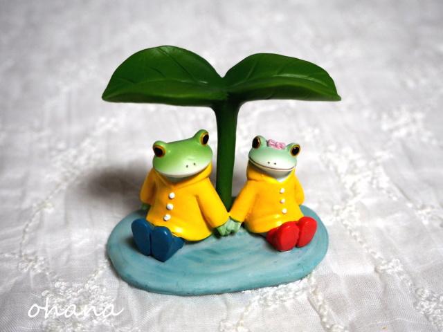 雨宿りカップル