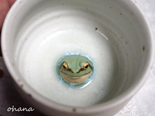アマガエルのカップ