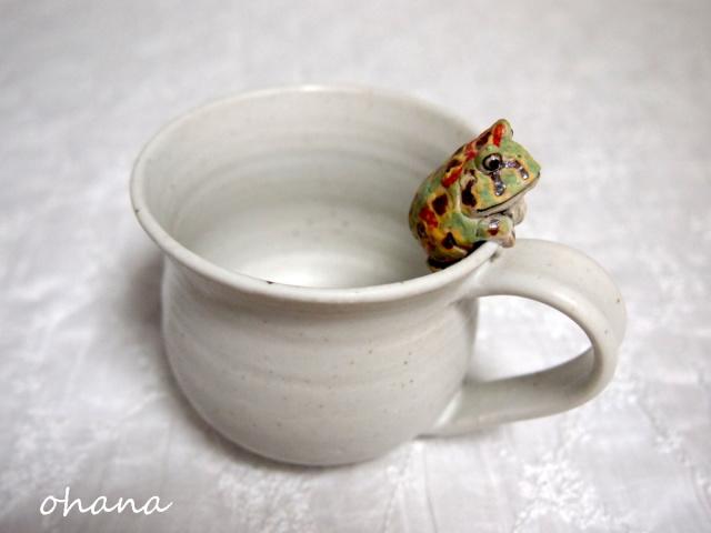 ベルツノガエルのマグカップ