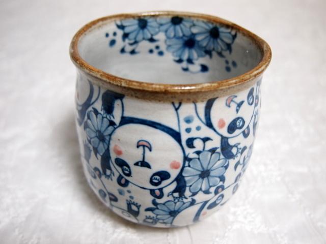 パンダのマグカップ
