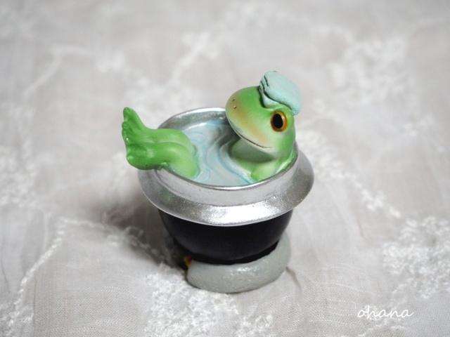 五右衛門風呂でぽかぽか