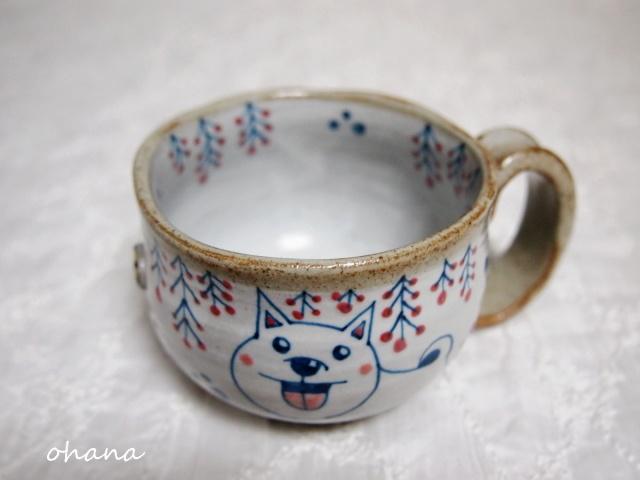 犬のマグカップ
