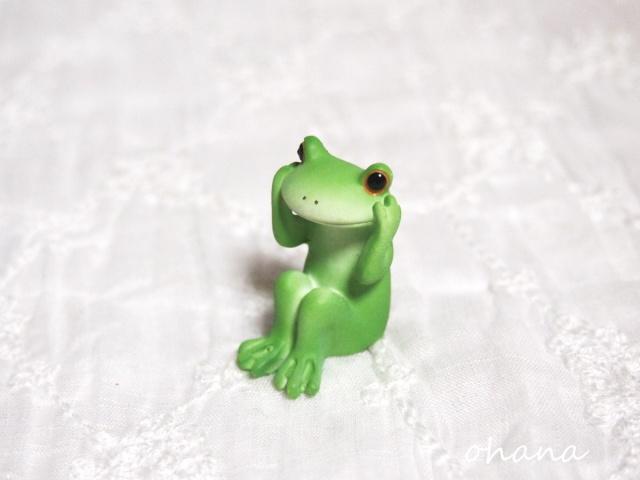 カエルの聞かざる