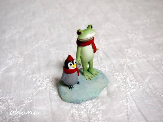 子ペンギンとカエル