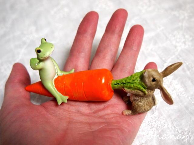 イースターウサギの綱引