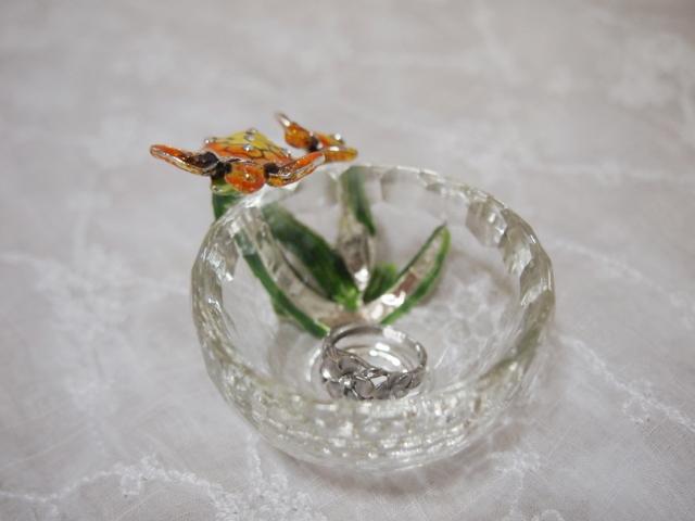 ガラスの小物入れ・竜宮の使い