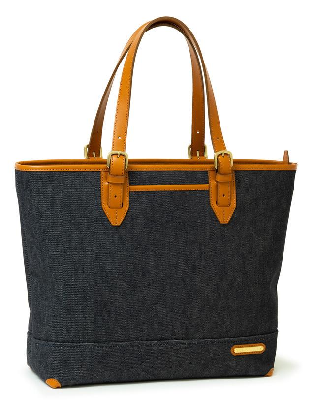 INNFITH(インフィス) デニムトートバッグ ゆったりA4サイズ対応 3色展開