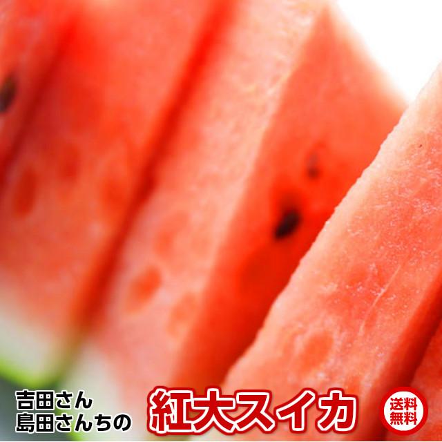 甘さとシャリ感の紅大スイカミネラル栽培,茨城県特別栽培農産物