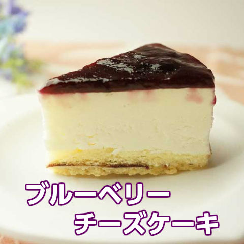冷凍『ブルーベリーチーズケーキ』11cm300g