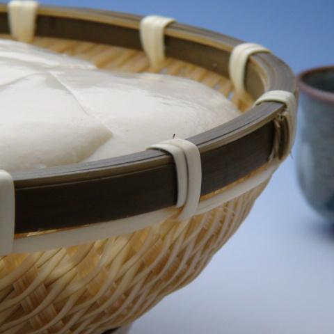 竹ざる豆腐とうふ豆腐