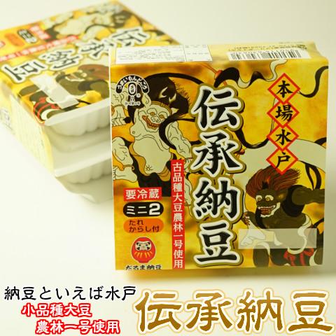 伝承納豆(パック40g×2)×6個