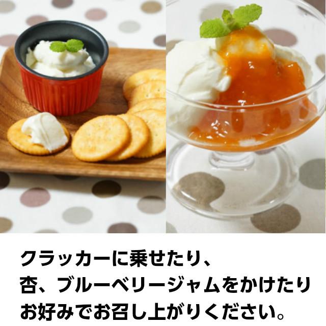 レアチーズヨーグルト,フランス産クリームチーズ「Kiri」を使用したヨーグルトデザート