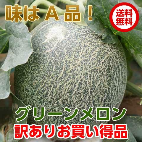 グリーンメロン糖度の高さとさっぱりとした甘さが特徴のメロン