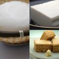 竹ざる豆腐、国産やわらか絹揚、国産ロングきぬ