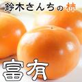 鈴木さんちの甘くて美味しい柿「富有柿」約4k-L以上10〜16玉