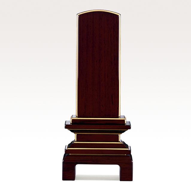 IH-0608     モダン位牌 紫檀材 京の梅 3,5寸~5,5寸 \48,600~\69,300