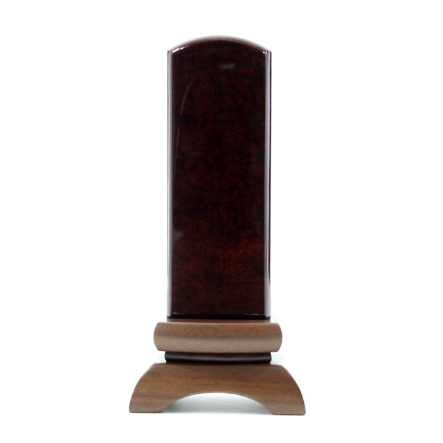 IH-0602     モダン位牌 美影 ワイン 4,5寸~5,0寸