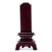 IH-0404     紫檀材位牌 葵角切 3,0寸~6,0寸