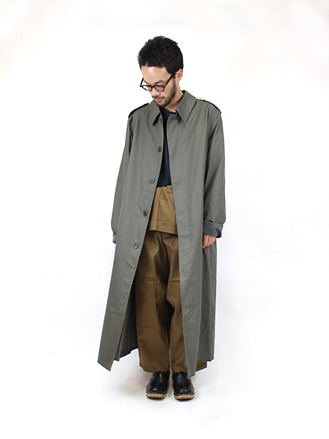 FRENCH ARMY LONG COAT フランス軍 ロングコート