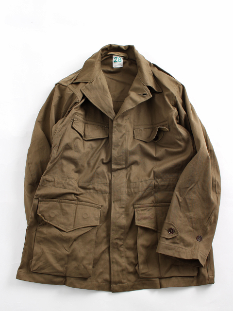 FRENCH ARMY M-47 FIELD JACKET AFTER HERRINGBONE フランス軍M47フィールドジャケット後期ヘリンボン