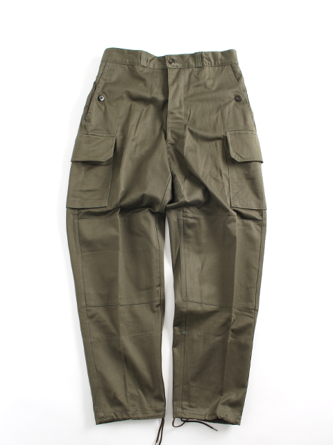 FRENCH ARMY M-64 FIELD TROUSERS フランス軍M64フィールドトラウザース