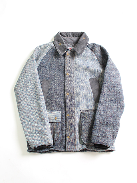 HARRIS TWEED COUNTRY JACKET yoused ハリスツイードカントリージャケット