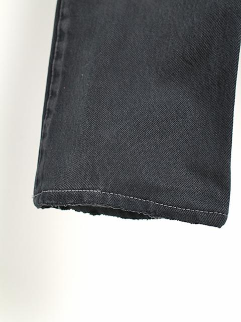 2FOR1デニムパンツブラックサイズ2A