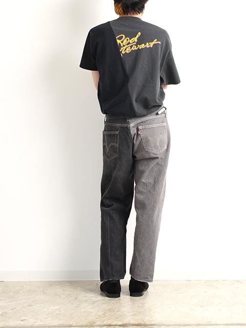 2FOR1デニムパンツブラックサイズ3B