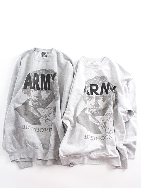 BEETHOVEN ARMY SWEAT ベートーヴェンアーミースウェット