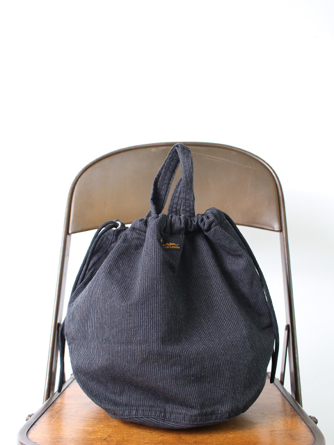 BLACK STRIPE PATIENTS BAG NAPRON ブラックストライプペイシェントバッグ