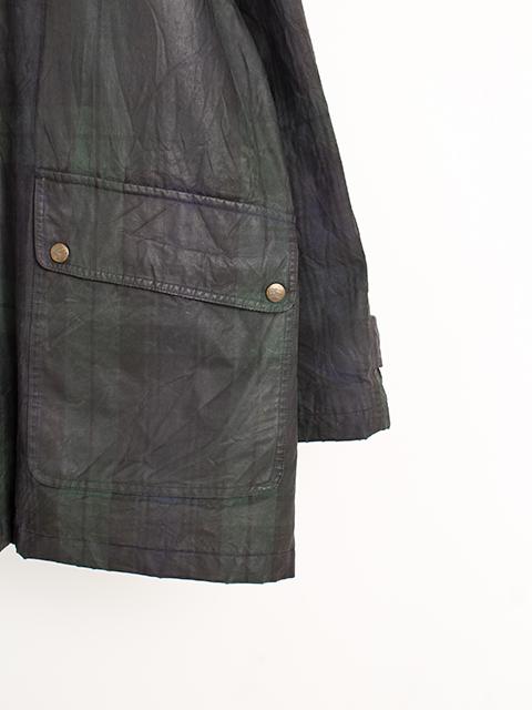 バーバリーオイルドジャケット