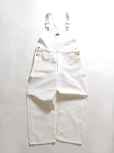 DICKIES 90s OVERALL WHITE ディッキーズ90年代オーバーオールホワイト