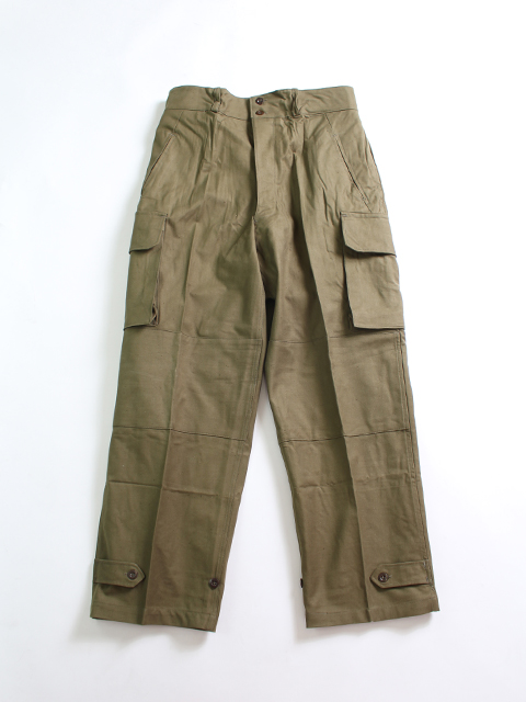 FRENCH ARMY M-47 CARGO PANTS フランス軍M47カーゴパンツ-前期