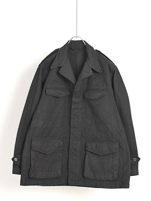 フランス軍M-47フィールドジャケット前期黒染め