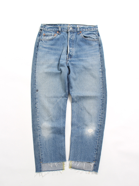 REMAKE 2FOR1 FRONT LOW DENIM PANTS-SIZE1 TYPE A フロントローデニムパンツサニーサイドアップ