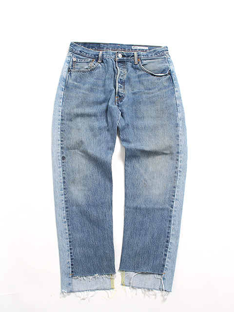 REMAKE 2FOR1 FRONT LOW DENIM PANTS-SIZE3 TYPE A フロントローデニムパンツサニーサイドアップ