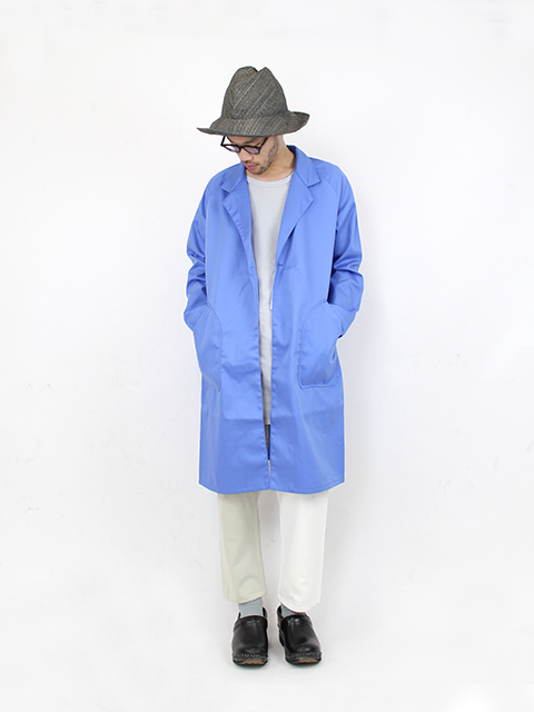 ATELIER WORK COAT-BLUE NAPRON BLUE LABEL アトリエワークコート ナプロン