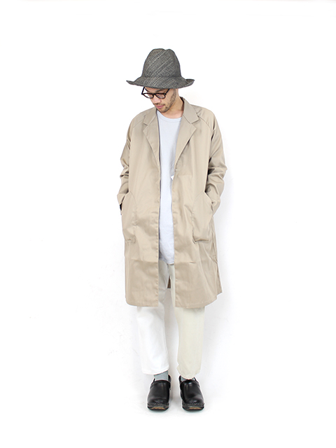 ATELIER WORK COAT-BEIGE NAPRON BLUE LABEL アトリエワークコート ナプロン