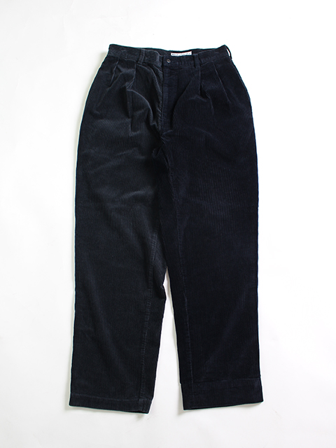 REMAKE 2FOR1 CORDUROY TROUSERS NAVY SIZE2 SUNNY SIDE UP- サニーサイドアップ