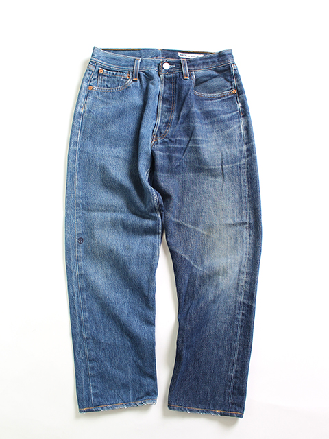 REMAKE 2FOR1 DENIM PANTS SUNNY SIDE UP-SIZE1 TYPE A デニムパンツ サニーサイドアップ