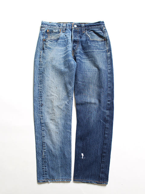 REMAKE 2FOR1 DENIM PANTS SUNNY SIDE UP-SIZE2 TYPE A デニムパンツ サニーサイドアップ